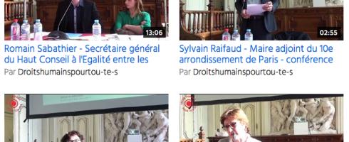 Les vidéos de la conférence du 21 mai 2015