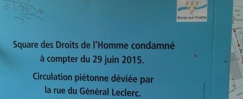 A Bures-sur-Yvette on est très en avance !