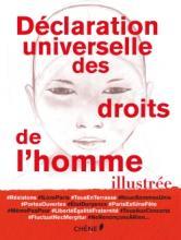 Couverture du livre La déclaration universelle des droits de l'homme illustrée